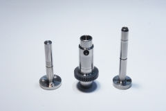 We have various sizes of high speed motor shafts and gears