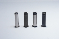 In house manufactured, coated and ground aerospace pins.
