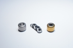 Manufactured and plated exhaust rollers